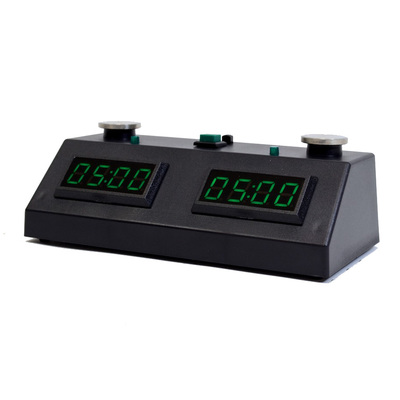 ZMF-II Digital Chess Timer Black with Green LED