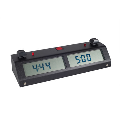 Chronos Digital Chess Clock II - Button Black