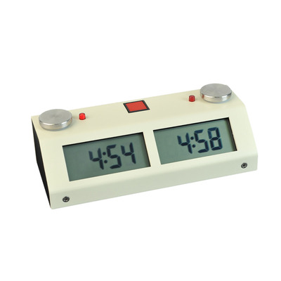 Chronos GX Digital Chess Clock - Touch Switch Beige