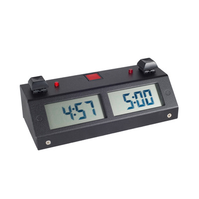 Chronos GX Digital Chess Clock - Button Black