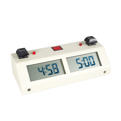 Chronos GX Digital Chess Clock - Button Beige