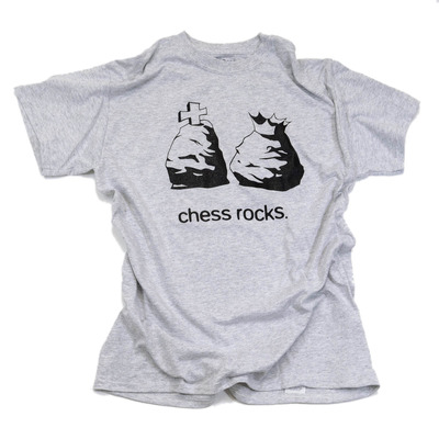 Chess Shirt: Chess Rocks