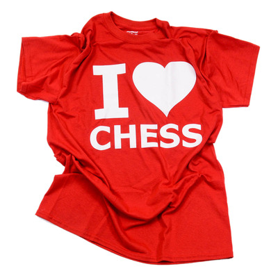 Chess Shirt: I Love Chess