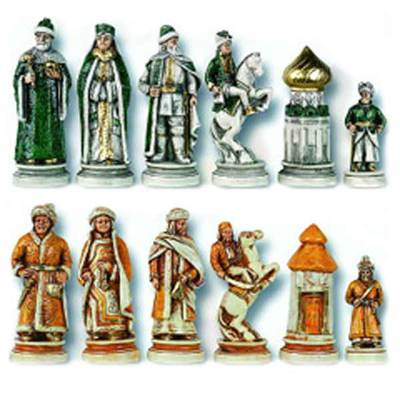 The Tzar Ivan The Great Chess Pieces