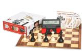 DGT Red Starter Box- Board Pieces Clock & Training Software