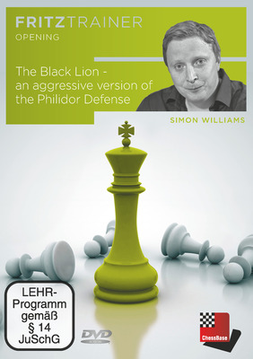 The Black Lion: An Aggressive Version of the Philidor Defense (Available on DVD and via Download)
