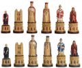 Canterbury Cathedral Hand Decorated Chess Pieces by Studio Anne Carlton