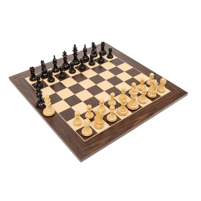 Fianchetto Premier Wood Chess Set