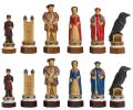 The White Tower Hand Decorated Chess Pieces By Studio Anne Carlton